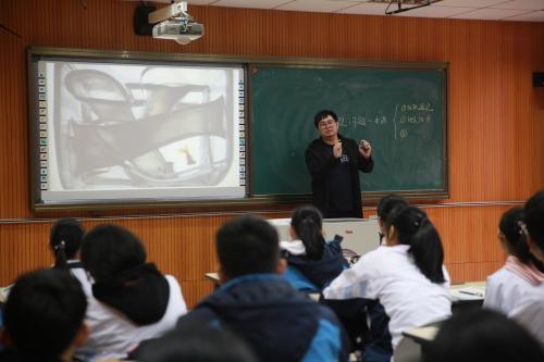 温州市直高中通用技术教研活动在我校举行